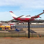Cessna 310 static aircraft display