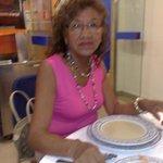 mi señora en el comedor