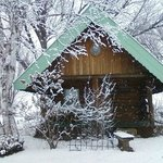 Little House on the Prairie Log Cabin