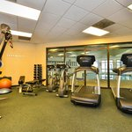 24-Hour Fitness Center to keep with your energy