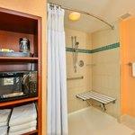 Handicap Accessible Shower available
