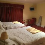 Two bed with rollaway option room