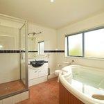 Spa bath in Apt 9, 2 bedroom 2 bathroom
