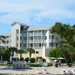 vista desde la playa del hotel