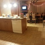 1 of the kitchens/ living rooms (we had two identical ones)