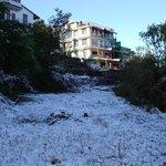 Snow at Sahaj Hotel