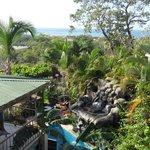 View from balcony of 3rd floor studio