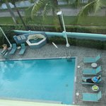 Pool, as seen from room