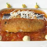 Duo of marinated sardines