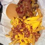 Bombdigity bacon cheese burger!!