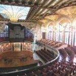 Palazzo della musica, l'interno