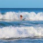 Hotel Playa Negra beach front surfing