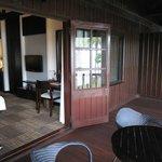 Balcony & room