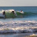 Surfing at El Palo