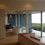 part of the bathroom and the veranda.