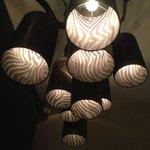 Lamp boven het bad