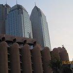 Hotel en wolkenkrabbers