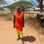 Erik our Masai spotter