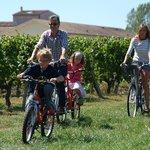 Un petit tour de vélo en famille!