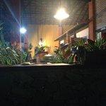 Vista bar do restaurante