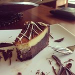 The BEST double chocolate cheesecake I EVER had!