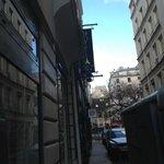 Arrivée rue Caron