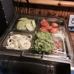 Free salad bar