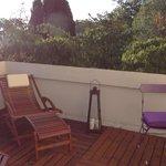 terrasse privative suite Noelie