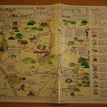飯店提供附近地圖