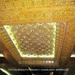 Teto da Mesquita Hassan II