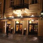 ресторан в центре Праги