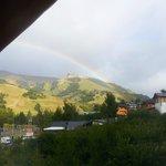 Arco Iris matinal luego de una lluvia.
