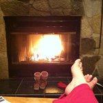 Very nice fireplace