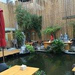 Espace extérieure et restaurant
