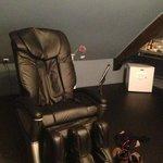 fauteuil massant en chambre