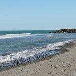 Beach near New Plymouth Top 10 site