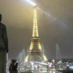 Eiffel Tower is an easy walk