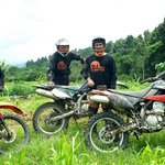 Dirt Bike Riding Bali, riding the cool hinterland