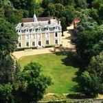 Chateau de Chanteloire Vue du Ciel