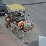 Наше такси в отель)))