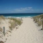 砂がとてもきれいです。
