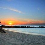 sunset at resort-GORGEOUS!!!