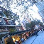 Rows of shops. Circa 2012.