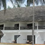 Beach fronted rooms