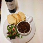 Beef Bourginon and crusty bread