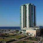Vue (ouest) depuis Islamar sur Gran Hotel