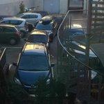 Katastrophale Parkplatzsituation