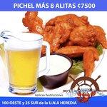Pichel + 8 Alitas 7500