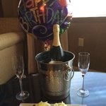 "Omni Jax ""Loyalty Ambassador"" Brad has this waiting in our room for wife's birthday."