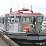 Sea tour guide boat